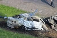 В жутком ДТП на М2 под Тулой сгорели три авто: двое погибли, Фото: 2