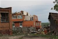 Последствия урагана в Ефремове., Фото: 19