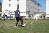 Тульские журналисты сыграли в футбол с зэками, Фото: 6