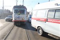 ДТП на мосту через Упу с участием «скорой». 28 января 2014, Фото: 4
