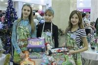 Тульские школьники приняли участие в Новогодней ярмарке рукоделия, Фото: 5