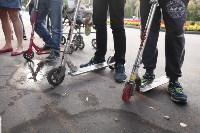 Туляки «погоняли» на самокатах в Центральном парке, Фото: 3