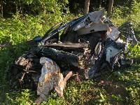 Жуткая авария в Заокском районе, Фото: 1