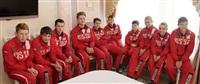 Встреча юных спортсменов с губернатором региона Владимиром Груздевым, Фото: 1