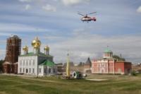 Установка шпиля на колокольню Тульского кремля, Фото: 14