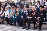 Открытие монумента и бронепоезда на Московском вокзале. 8 мая 2015 года, Фото: 24