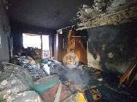 В пятиэтажке на ул. Маршала Жукова в Туле сгорела квартира, Фото: 12