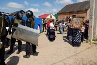 В Плеханово начали сносить дома в цыганском таборе, Фото: 116