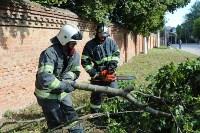 Спасатели ликвидируют последствия непогоды в Туле, Фото: 5