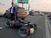 В Туле внедорожник подрезал мотоциклиста, Фото: 6