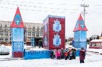 Праздничное оформление площади Ленина. Декабрь 2014., Фото: 5