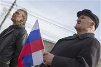 Митинг в Туле в поддержку Крыма, Фото: 49