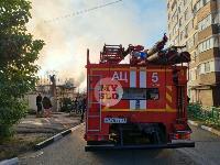 На ул. Баженова в Туле крупный пожар уничтожил жилой дом, Фото: 19