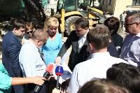 Груздев инспектирует строительство бассейна на Гоголевской. 3.08.2015, Фото: 13