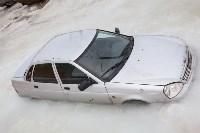 Машина вмерзла в лед, Фото: 2