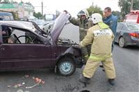 ДТП в Басова с участием четырёх автомобилей. 3 сентября 2013, Фото: 17