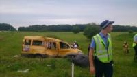 Авария на трассе Тула-Калуга. 04.07.2014, Фото: 6