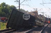 В Тульской области грузовой поезд сошел с рельсов, Фото: 42