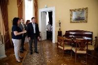 Алексей Дюмин осмотрел  Богородицкий дворец-музей и парк, Фото: 1