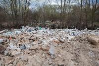 В Туле на берегу Тулицы обнаружен незаконный мусорный полигон, Фото: 27
