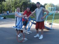 В Центральном парке Тулы прошли соревнования по уличному баскетболу, Фото: 15