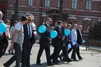 Тульская Федерация профсоюзов провела митинг и первомайское шествие. 1.05.2014, Фото: 5
