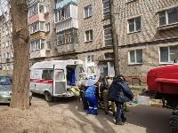 Пожар на ул. Октябрьской, Фото: 4