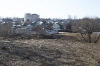 Туляк засыпал ручей, 12 колодцев и 4 канализационных люка, самовольно строя дорогу, Фото: 2