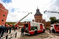 Учения МЧС в Тульском кремле, Фото: 36