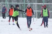 «Арсенал» готовится на снежном поле к игре против «Тосно», Фото: 24