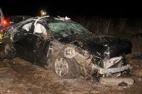 В жутком ДТП в поселке Рассвет погиб пассажир Audi A6, Фото: 1