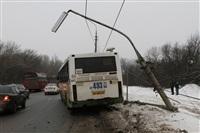 ДТП в Басово: столкнулись два рейсовых автобуса, Фото: 2