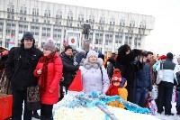 Арт-объекты на площади Ленина, 5.01.2015, Фото: 54