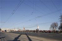 Второй этап эстафеты олимпийского огня: Зареченский район, Фото: 11