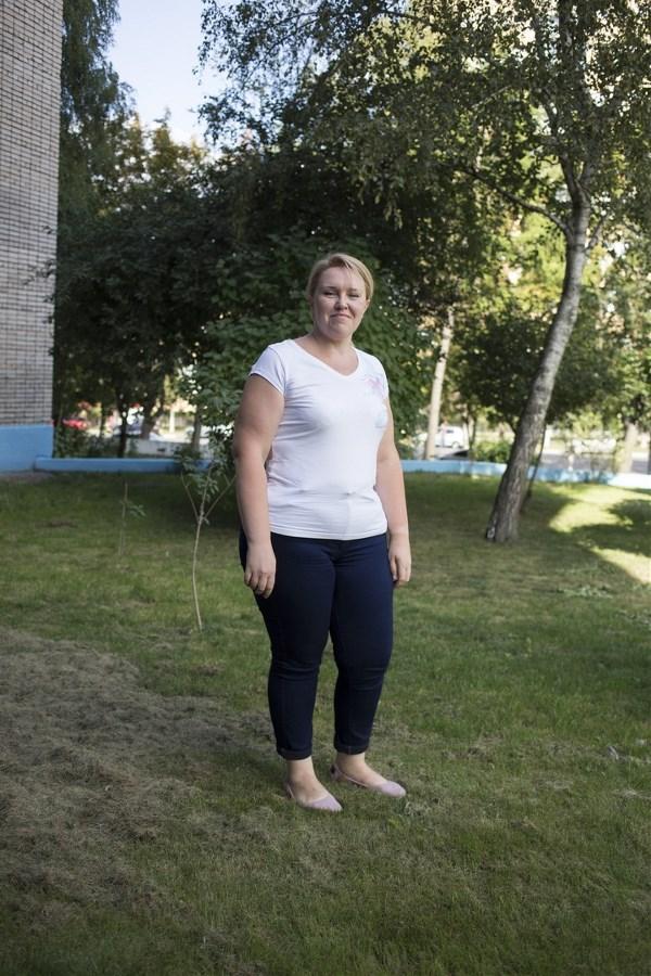 Наталья Мельникова, 39 лет. Рост 168 см, вес 99 кг.