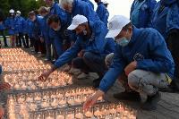 Ветераны «Тулачермета» и молодые специалисты приняли участие в акции «Свеча Памяти», Фото: 7