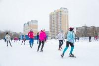 В Туле прошли массовые конькобежные соревнования «Лед надежды нашей — 2020», Фото: 14