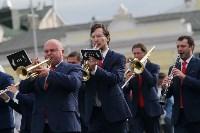По праздничной Туле прошли духовые оркестры, Фото: 8
