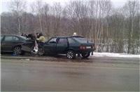 ДТП на 59-км автодороги Тула-Белев. 5 января 2014, Фото: 2