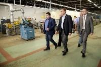 В Богородицке Алексей Дюмин посетил ООО «Завод №423», Фото: 19