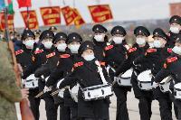 В Туле прошла первая репетиция парада Победы: фоторепортаж, Фото: 15