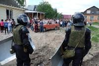 В Плеханово начали сносить дома в цыганском таборе, Фото: 153