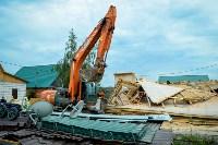 В Плеханово убирают незаконные строения, Фото: 72