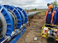 В Туле меняют аварийный участок трубы, из-за которого отключали воду в Пролетарском округе, Фото: 21