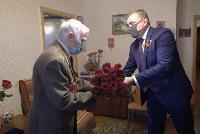 Алексей Дюмин поздравил ветеранов, Фото: 4