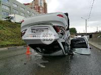 В Туле в ДТП с военным КамАЗом и такси пострадали три человека, Фото: 6