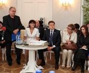 Владимир Груздев в Богородицком дворце-музее. 30.06.2015, Фото: 5