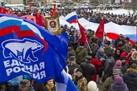 В Туле проходит митинг в поддержку Крыма, Фото: 13