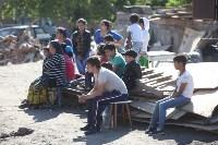Демонтаж незаконных цыганских домов в Плеханово и Хрущево, Фото: 47