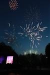 """Фейерверк в честь """"Арсенала"""" в Центральном парке. 16 мая 2014, Фото: 32"""